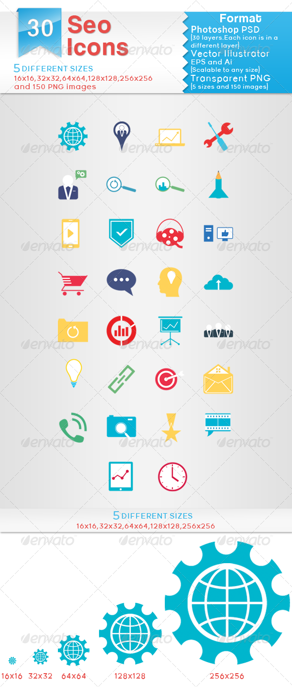 Seo Icons - Icons