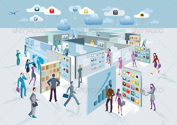 Screens Maze - Communications Technology