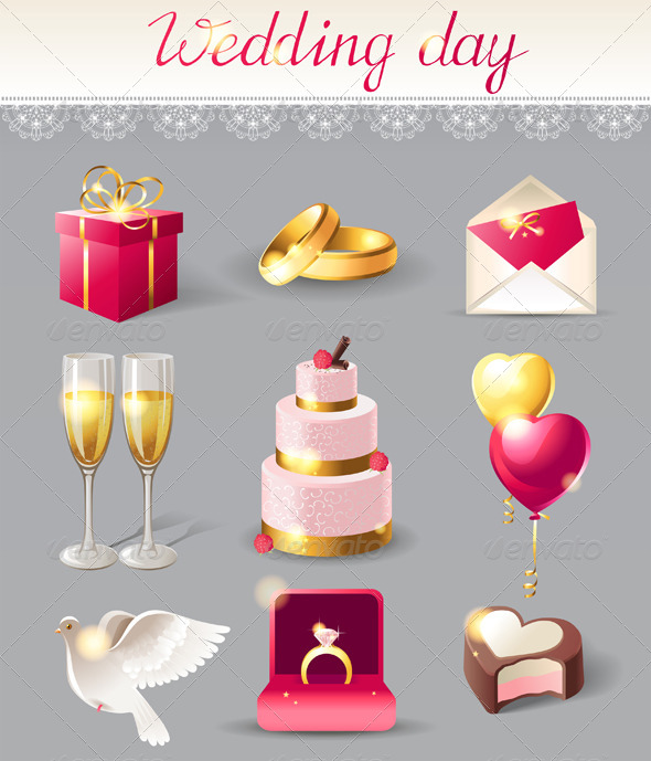 Wedding Icons - Weddings Seasons/Holidays