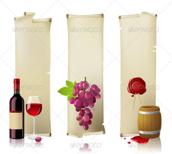 Wine Banners - Retro Technology