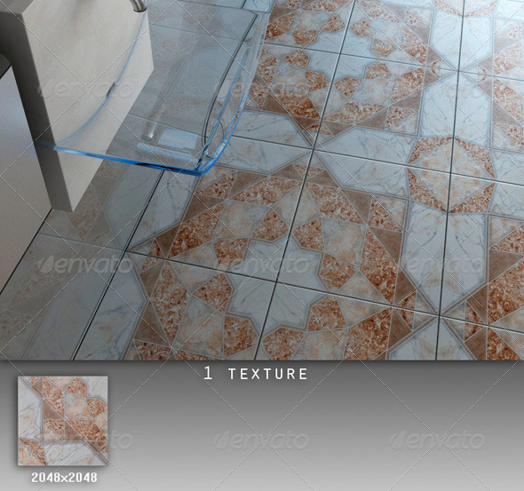 Professional Ceramic Tile Collection C035 - 3DOcean Item for Sale
