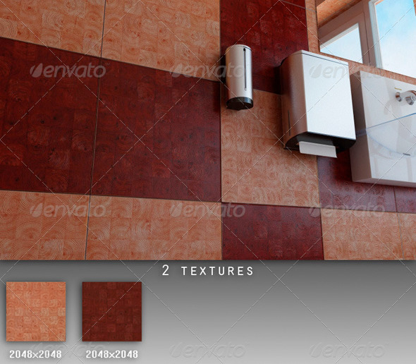 Professional Ceramic Tile Collection C038 - 3DOcean Item for Sale