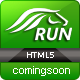 Run Coming Soon html5 Template - ThemeForest Item for Sale