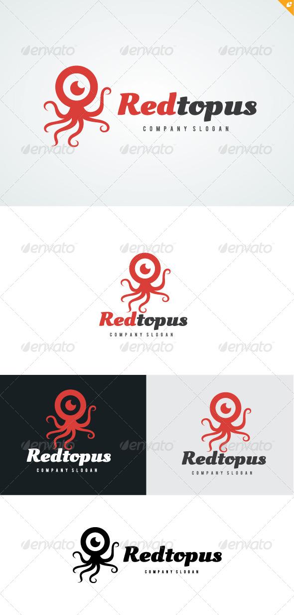 Redtopus Logo - Animals Logo Templates
