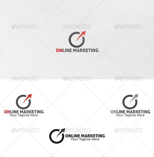 Online marketing logo template by martinjamez graphicriver online marketing logo template vector abstract altavistaventures Choice Image