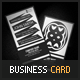 Trans Max Business Card - GraphicRiver Item for Sale