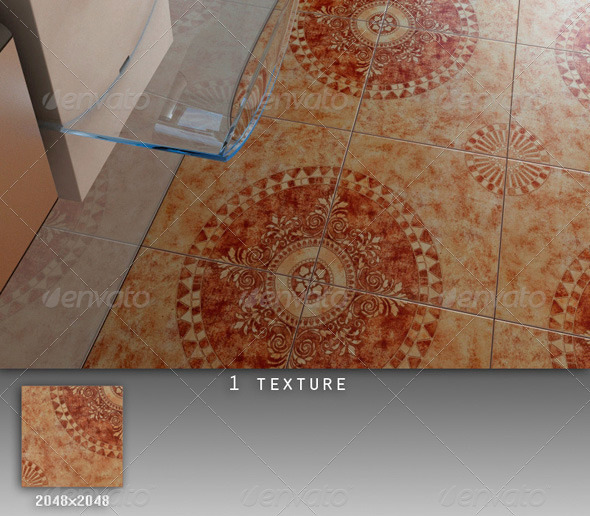 Professional Ceramic Tile Collection C039 - 3DOcean Item for Sale