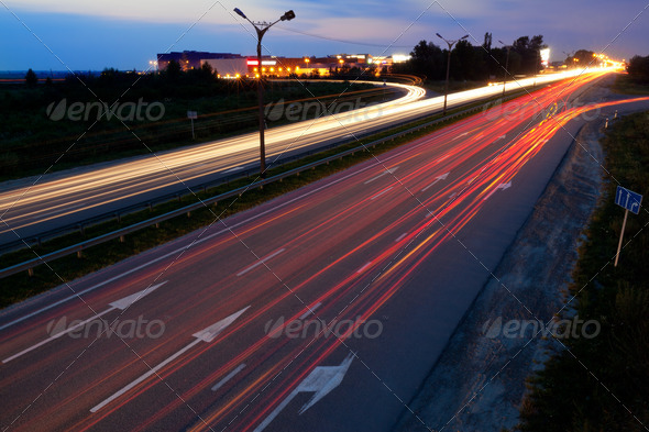 Road traffic - Stock Photo - Images