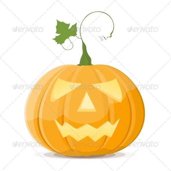 Halloween Pumpkin - Food Objects