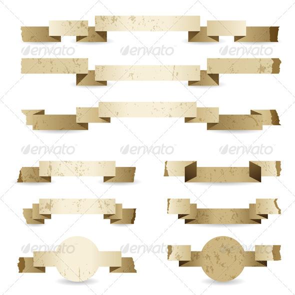 Paper Ribbons - Retro Technology