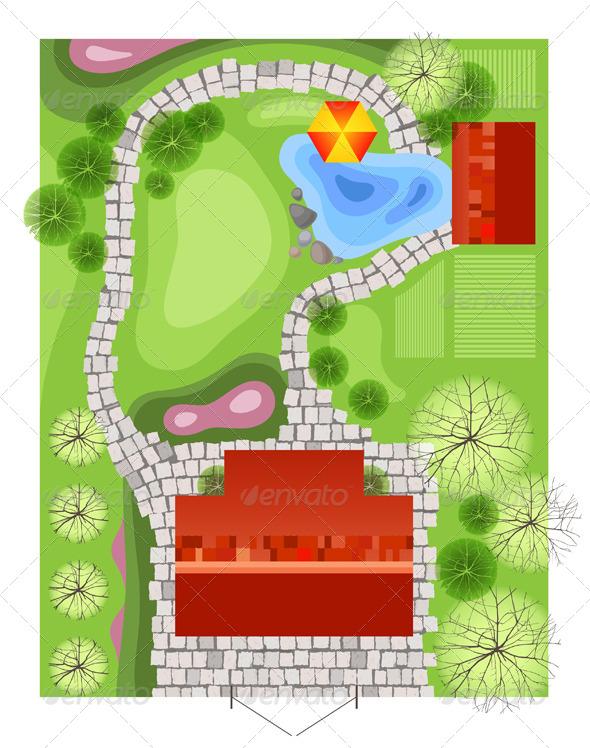 Landscape Design - Nature Conceptual