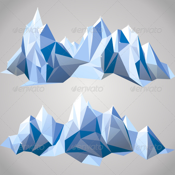 Paper Mountains - Nature Conceptual