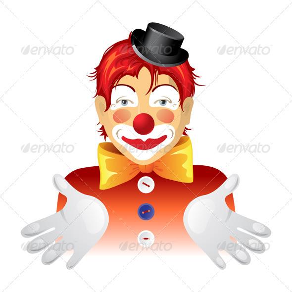 Clown - Characters Vectors