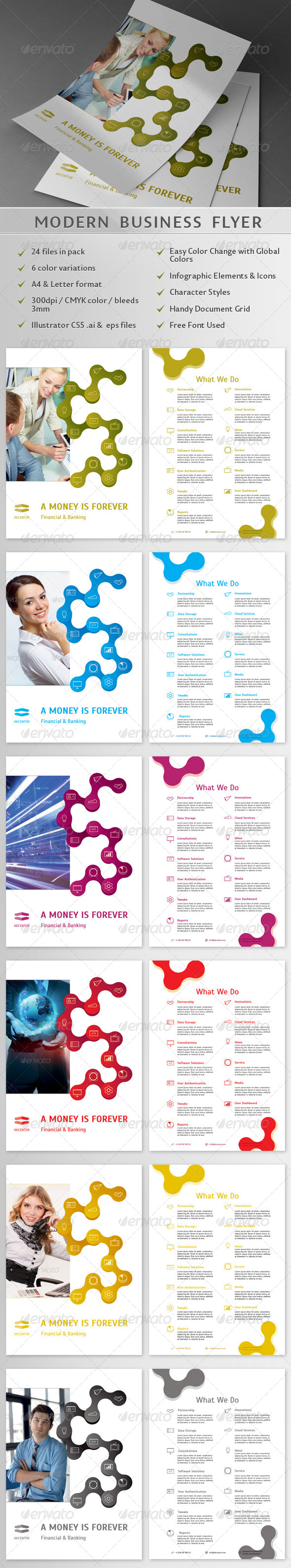 Modern Business Flyer 02 - Corporate Flyers