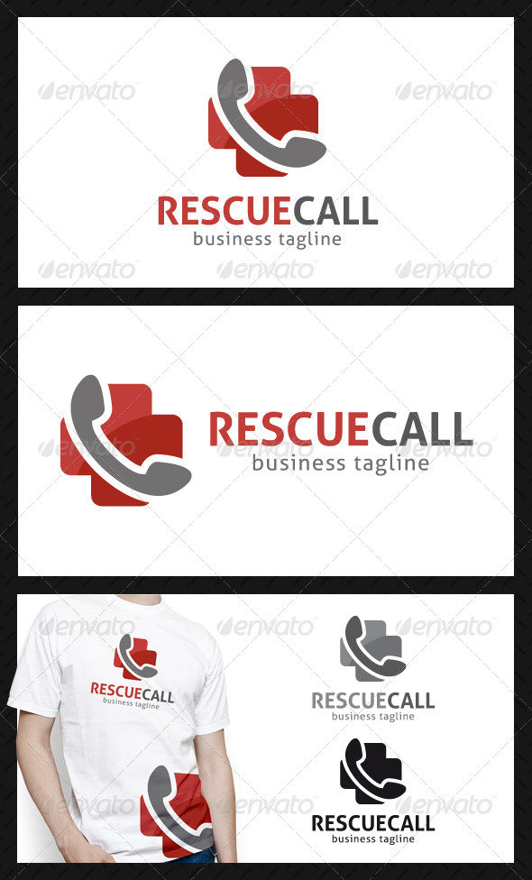Rescue Call Logo Template - Objects Logo Templates