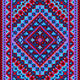 Vivid Carpet Old Style in Blue and Purple Shades - GraphicRiver Item for Sale