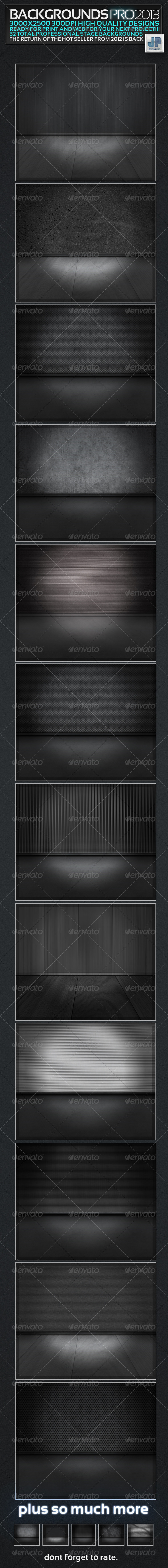 Backgrounds Pro 2013 - Miscellaneous Backgrounds