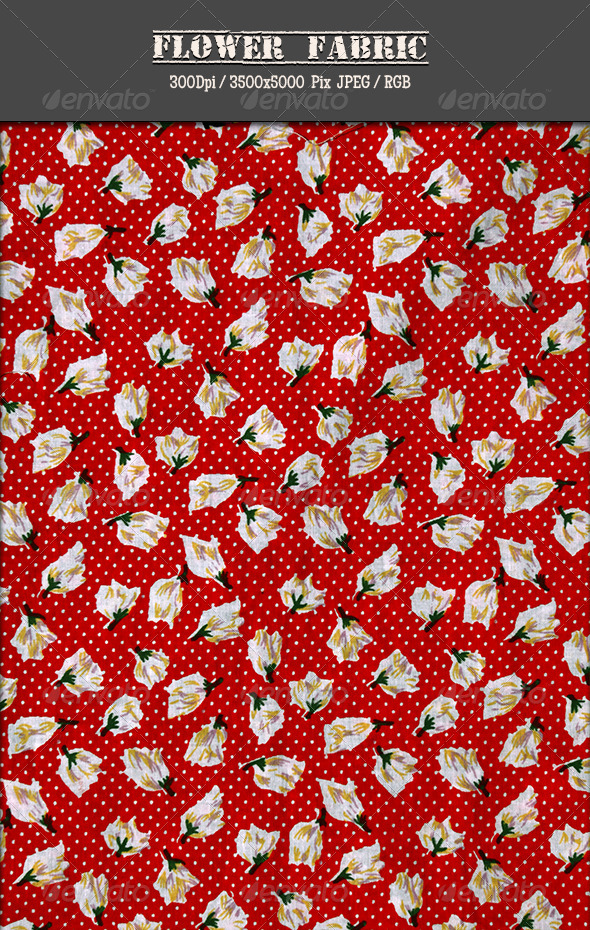 Flower Fabric - Fabric Textures