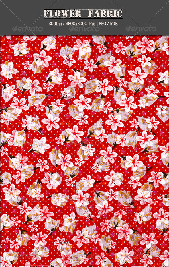 Flower Fabric 5 - Fabric Textures
