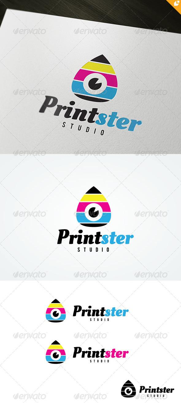 Printster Logo - Symbols Logo Templates