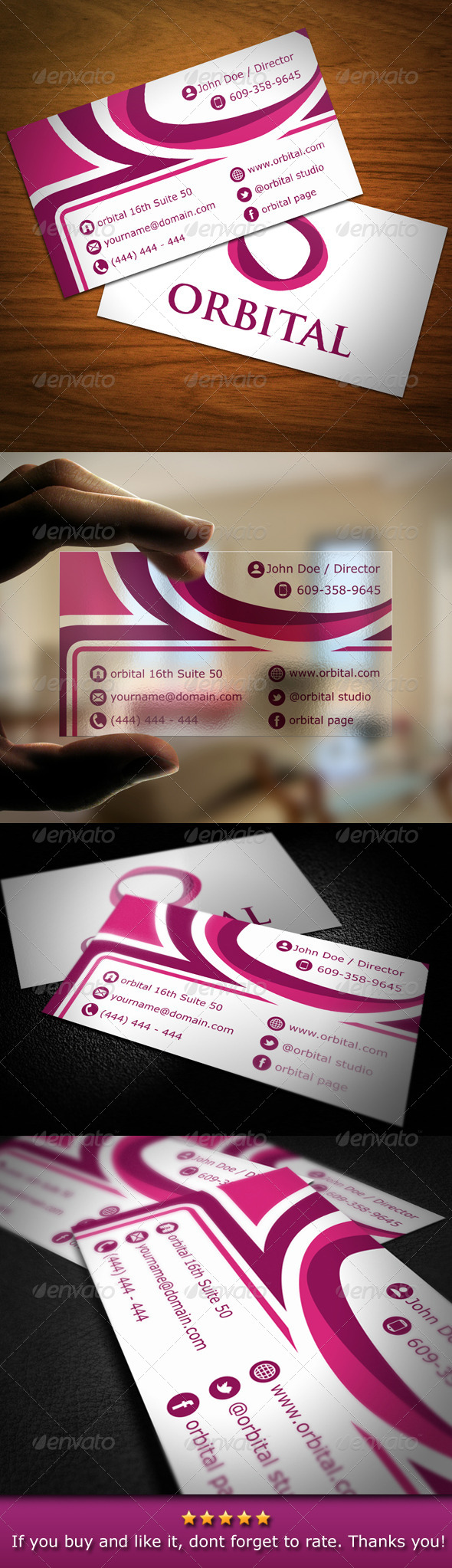 Creative Modern Abstract Business Card - Creative Business Cards