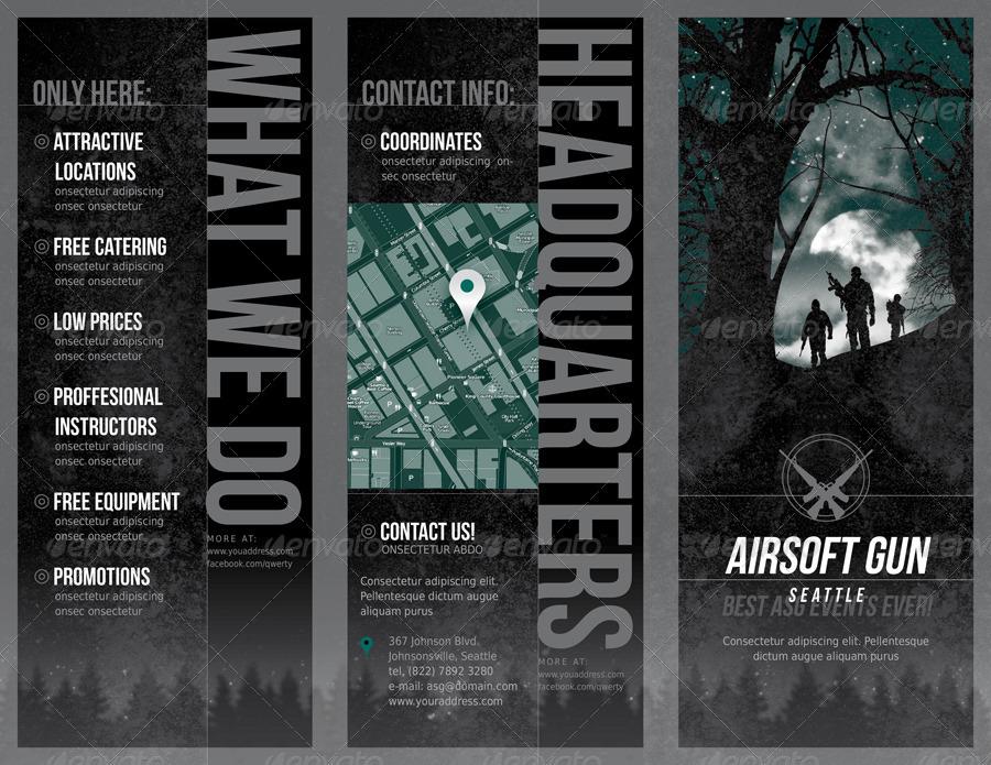 airsoft gun brochure by pkarolina