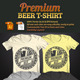 Premium Beer T-Shirt - GraphicRiver Item for Sale