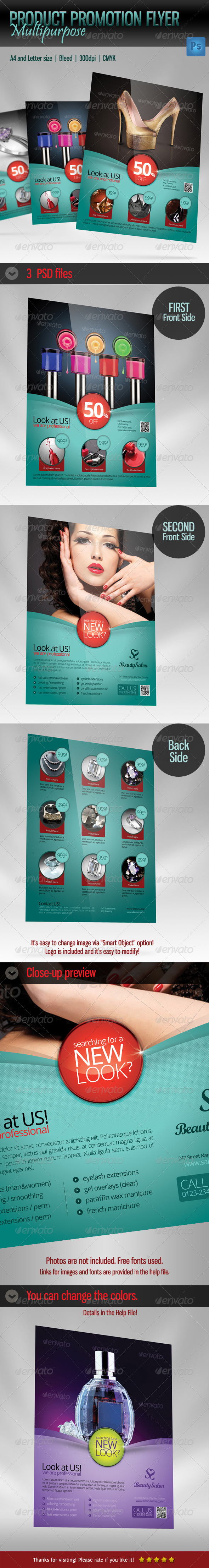 Product Flyer Multipurpose - Commerce Flyers
