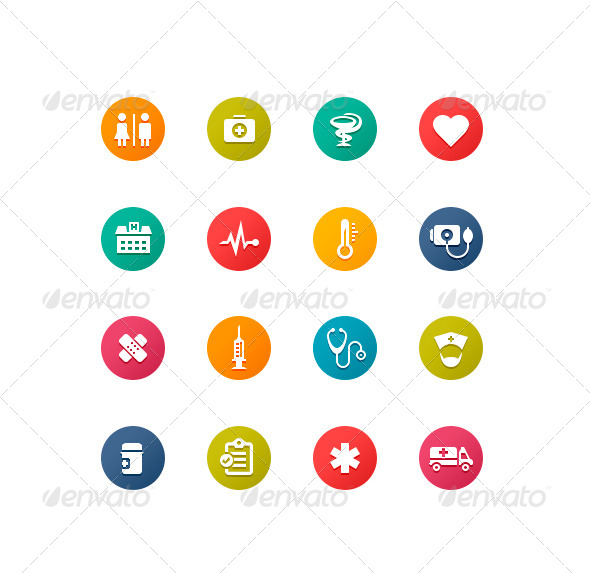 Healthcare Symbols - Icons