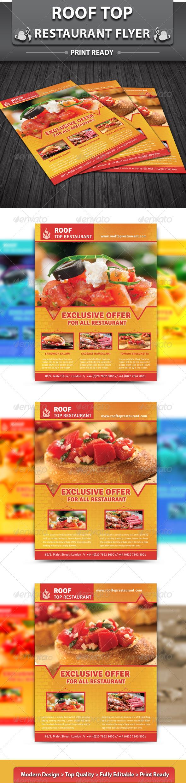 Restaurant Business Flyer | Volume 6 - Restaurant Flyers