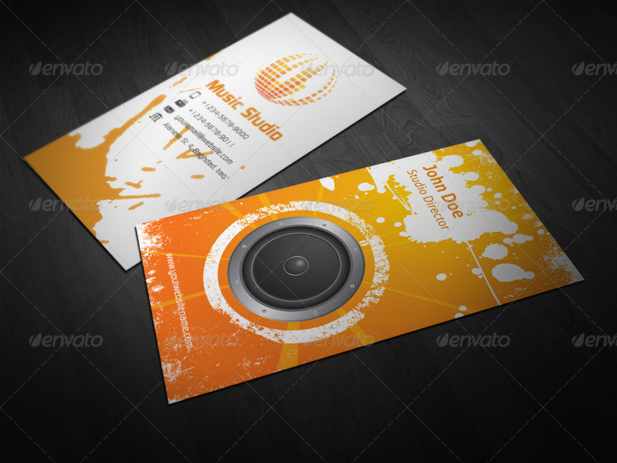 Recording studio business card templates 28 images vinyl records recording studio business card templates by studio business card vol 2 by owpictures graphicriver colourmoves