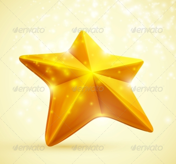 Gold Star - Decorative Symbols Decorative