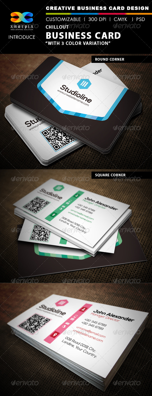 Chillout Business Card - Corporate Business Cards