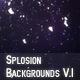 Splosion Backgrounds V.1 - GraphicRiver Item for Sale