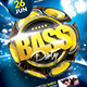 Bass Party Flyer Template - GraphicRiver Item for Sale