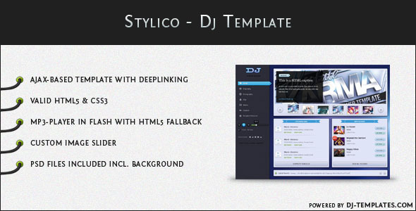 Stylico - Dj Template
