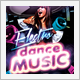 Dance Music Party Flyer and CD Cover - GraphicRiver Item for Sale