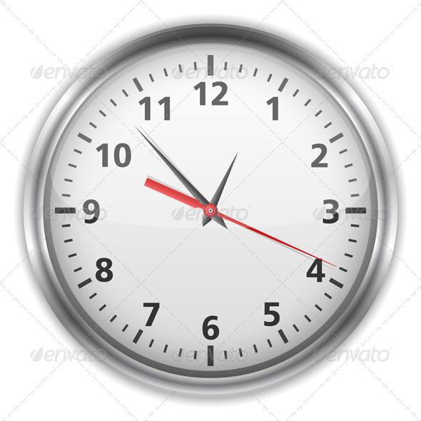 Clock - Objects Vectors