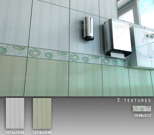 Professional Ceramic Tile Collection C042 - 3DOcean Item for Sale