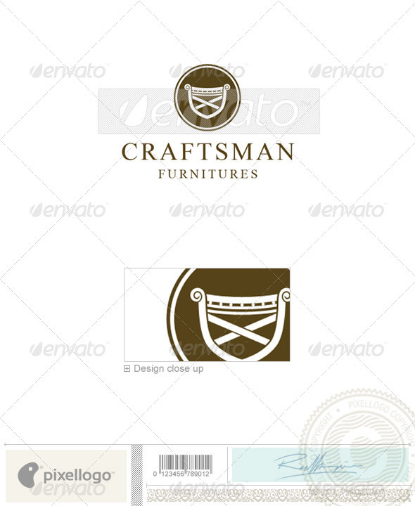 Home & Office Logo - 1488 - Objects Logo Templates