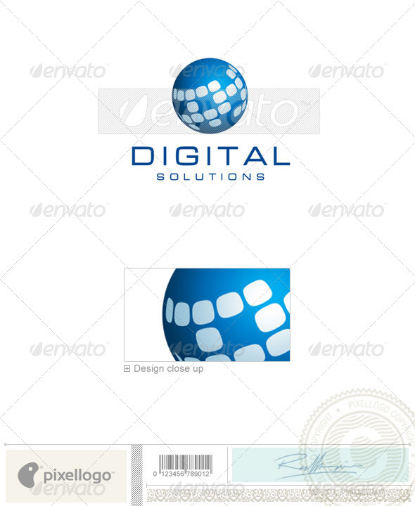 Communications Logo - 1782 - Objects Logo Templates