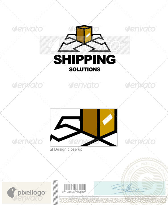 Transportation Logo - 57 - Vector Abstract