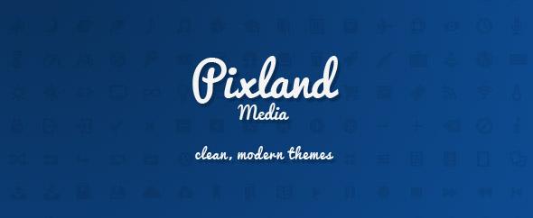 Pixland themeforest profile