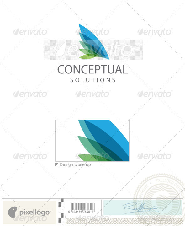 Business & Finance Logo - 1997 - Vector Abstract