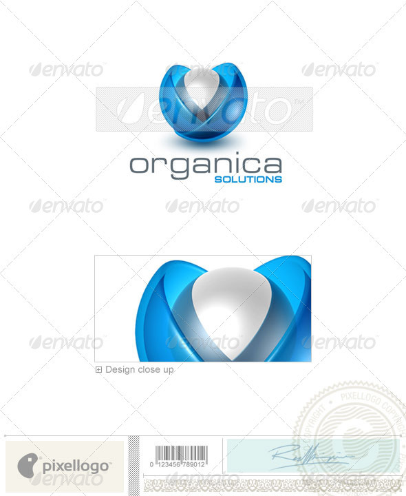 Technology Logo - 3D-332 - 3d Abstract