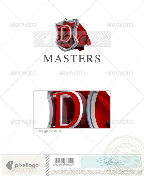 D Logo - 3D-259-D - Letters Logo Templates