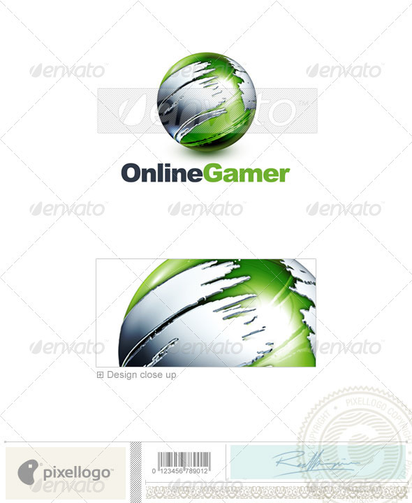 Communications Logo - 3D-466 - 3d Abstract