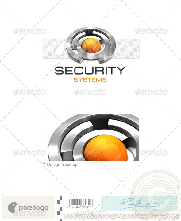 Business & Finance Logo - 3D-370 - 3d Abstract