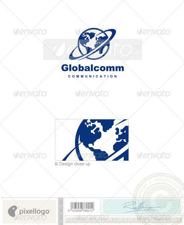 Communications Logo - 610 - Vector Abstract