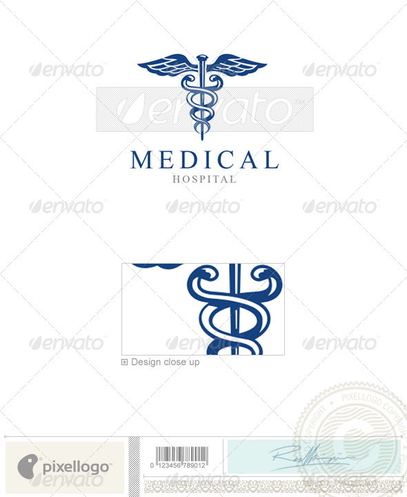 Industry & Science Logo - 1354 - Vector Abstract